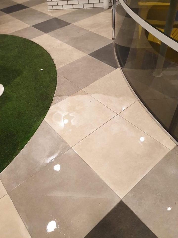 Sparkling Clean Tiles - Indoor